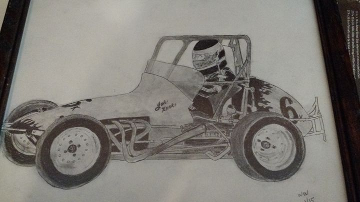 Jason Knoke Racing - William Warrenfeltz Art