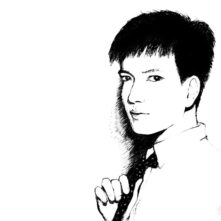 Self-portrait - Dehua ZOU