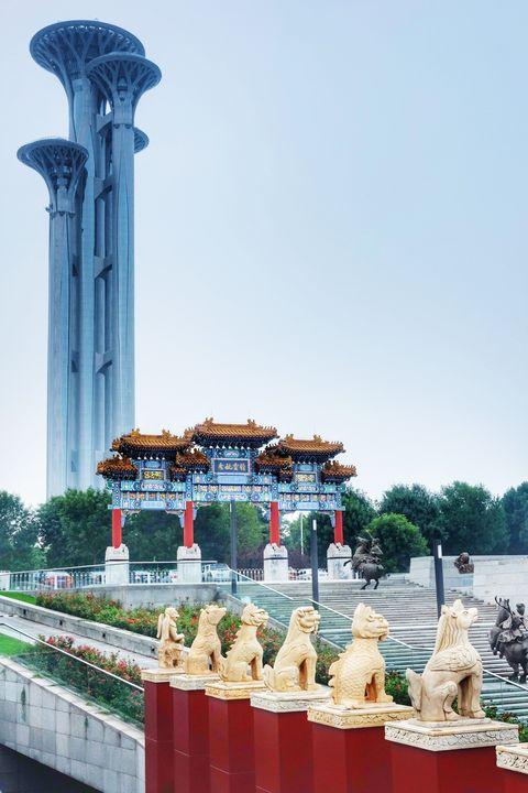 Beijing Olympic Park Tower - Dehua ZOU