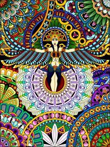 Mandala Goddess
