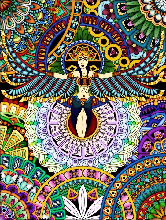 Mandala Goddess - Cailynn Riches