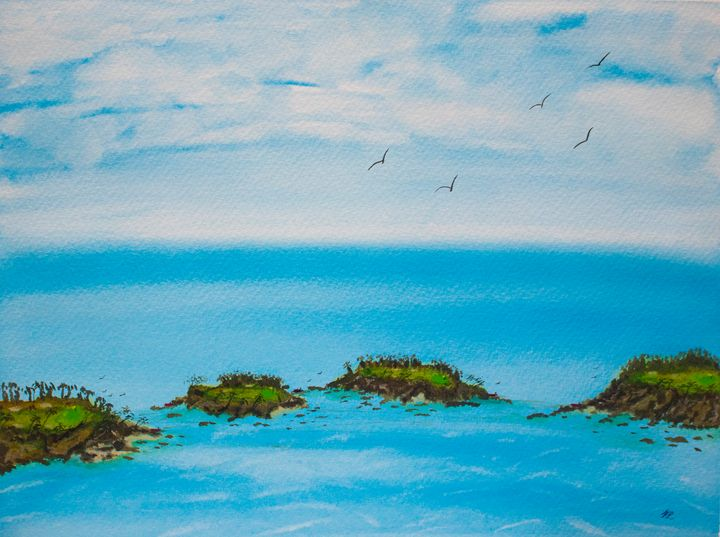 Island Course - Art By LeClaire Designs