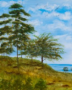 Coastline Trees - Art By LeClaire Designs