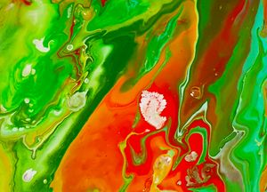 Emerald Marble - Art By LeClaire Designs
