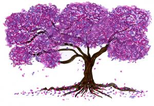 Purple Nature - Art By LeClaire Designs