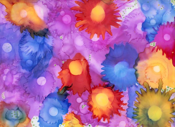 Field of Flowers - Art By LeClaire Designs