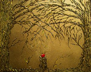 Poison Apple Tree - Art By LeClaire Designs