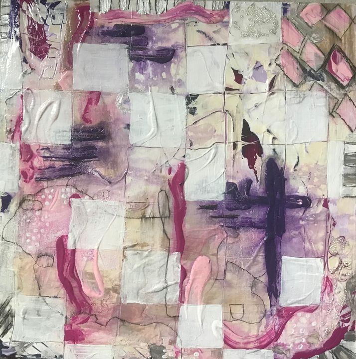 play time - Kristy's Abstract Art