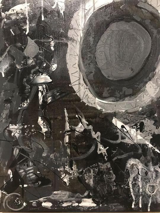 Bullseye Noir - Anything Goes Abstract