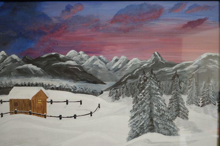 winter days - Original paintings
