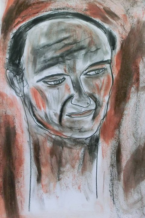 portrait d'homme - impression