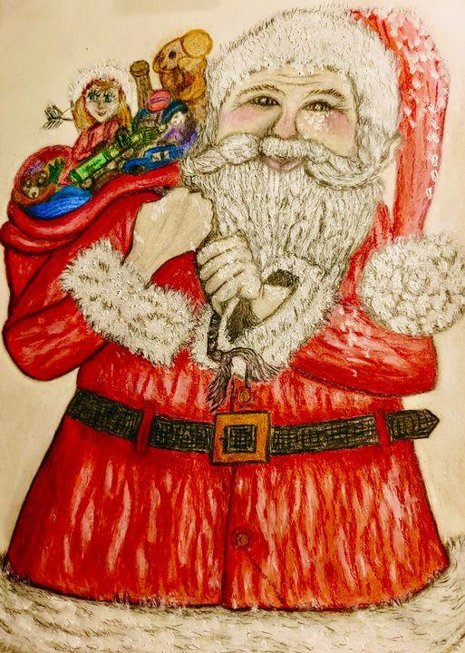 A White House Santa - Newlight Angel Art