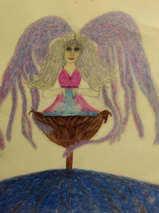 Amachael Angel - Newlight Angel Art