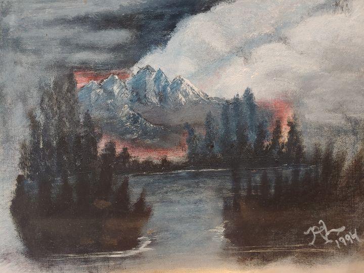 Fire On The Mountain - Newlight Angel Art