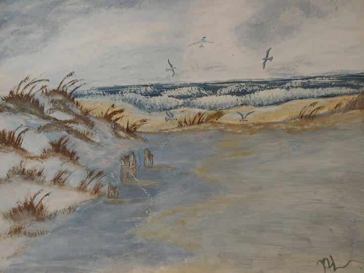 Seashore - Newlight Angel Art