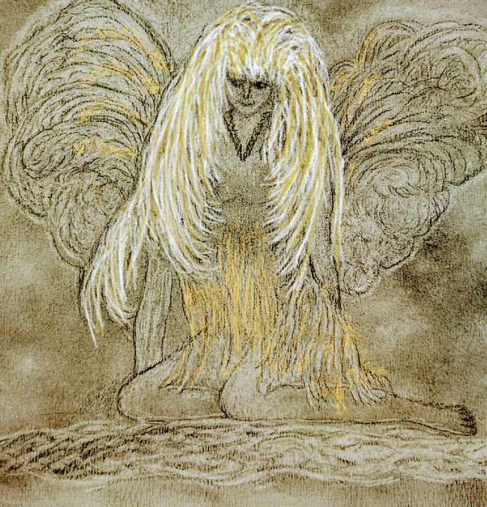 Ninael Angel - Newlight Angel Art