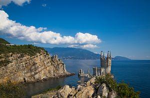 Castle Swallow Nest. Yalta. Crimea