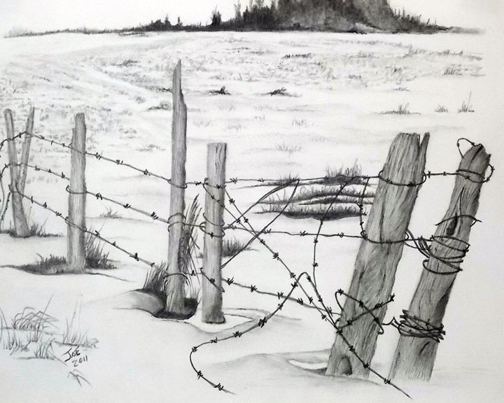 Winter Field - ArtbyJosephB