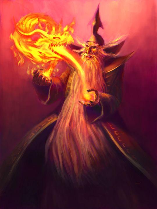 Fire Wizard - Asgarathon