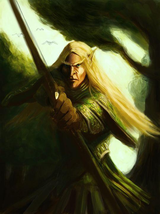 Elf archer - Asgarathon