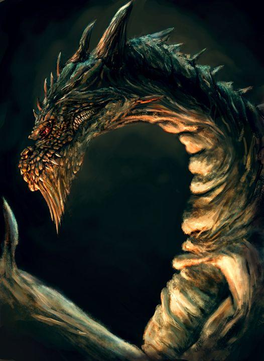 Cave dragon - Asgarathon