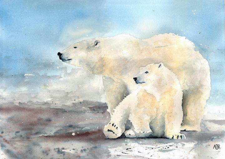Polar Bears - Alexa Raniuk