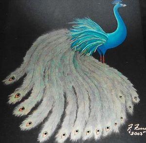 "Peacock - Fran's Art World ""Through the Eye of Imagination"""