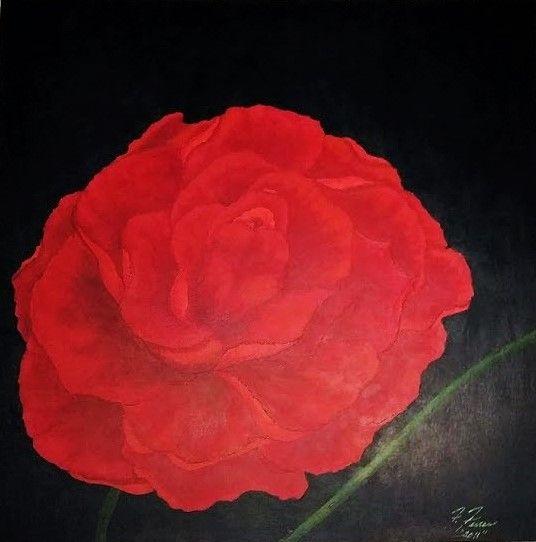 "Rose - Fran's Art World ""Through the Eye of Imagination"""