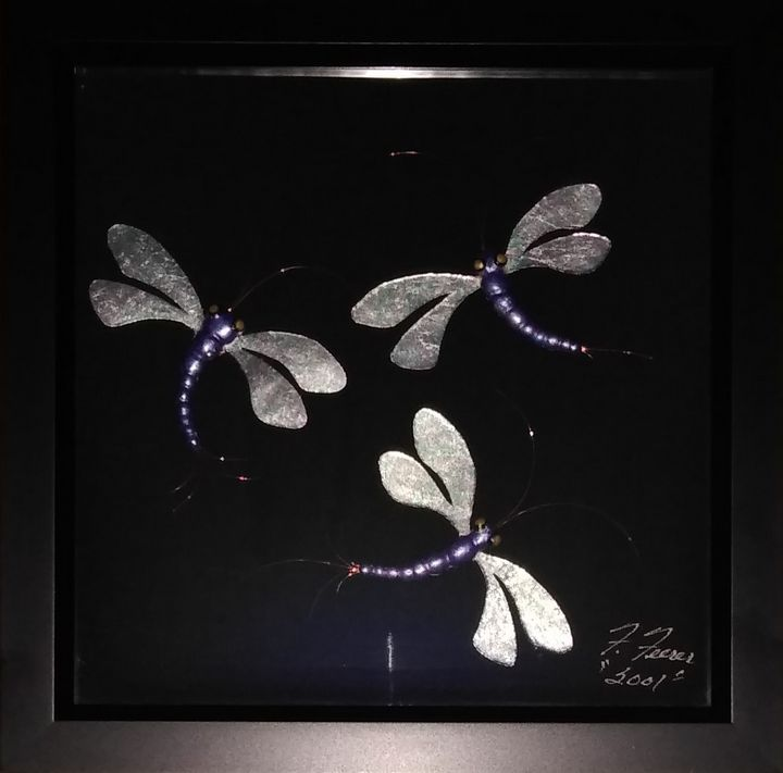 "Dragon Fly - Fran's Art World ""Through the Eye of Imagination"""