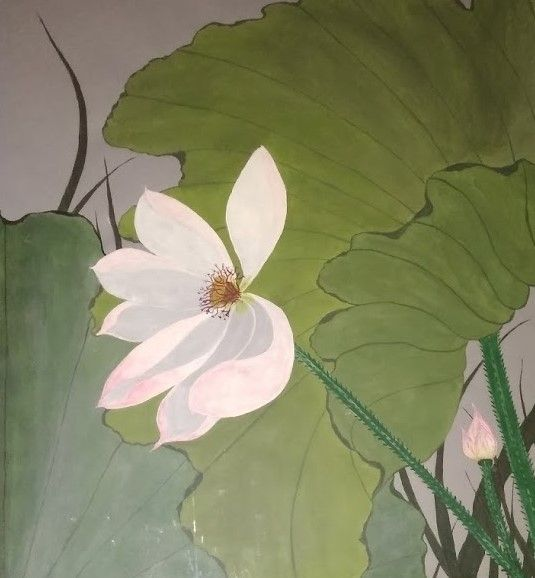 "Water Lilly - Fran's Art World ""Through the Eye of Imagination"""