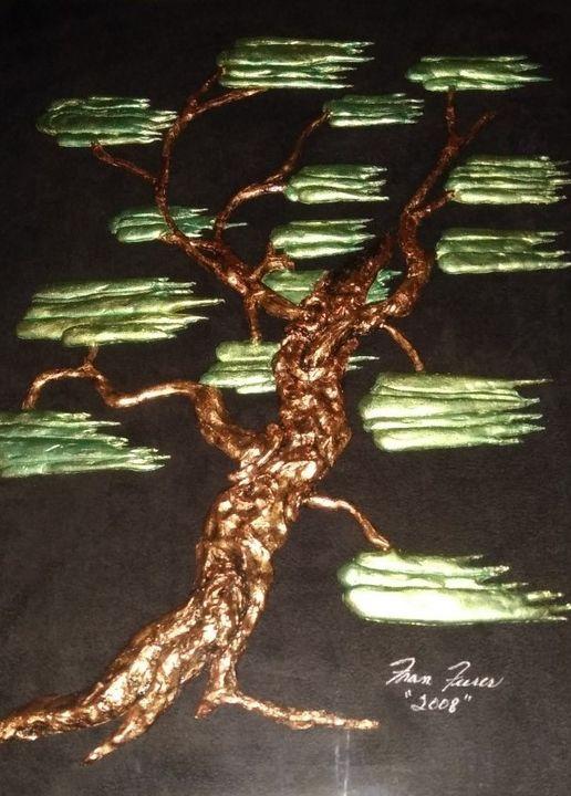 "Southern Live Oak Tree - Fran's Art World ""Through the Eye of Imagination"""