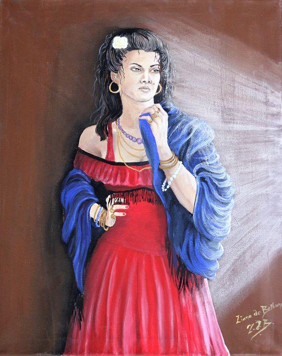 Carmen The Gypsy - Ziana de Bethune - Fine Art.