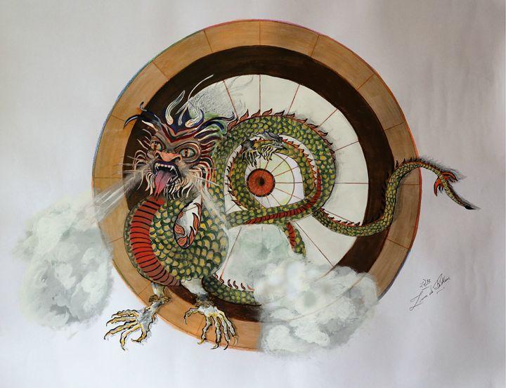 The Dragon - Ziana de Bethune - Fine Art.