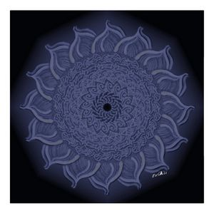 Purple Flower Mandala - BC Designs