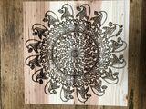 Original Wood Engraving