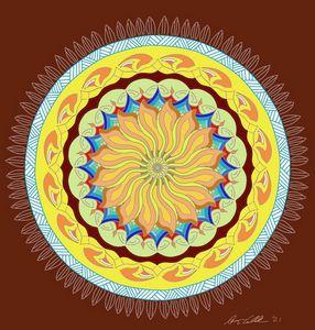 Polynesian Mandala - BC Designs