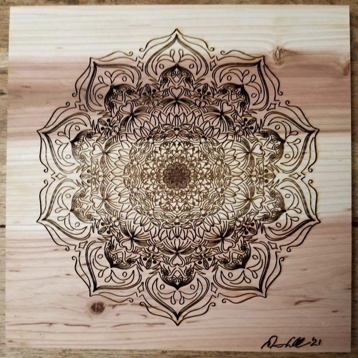 Intricate Mandala - BC Designs