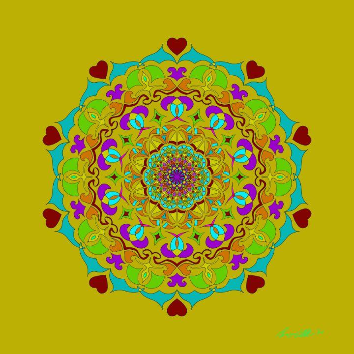 Heart Mandala - BC Designs