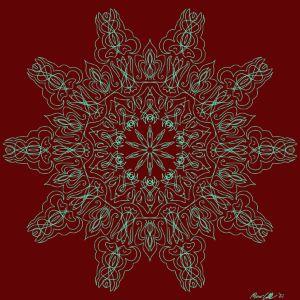 Pinstripe Mandala