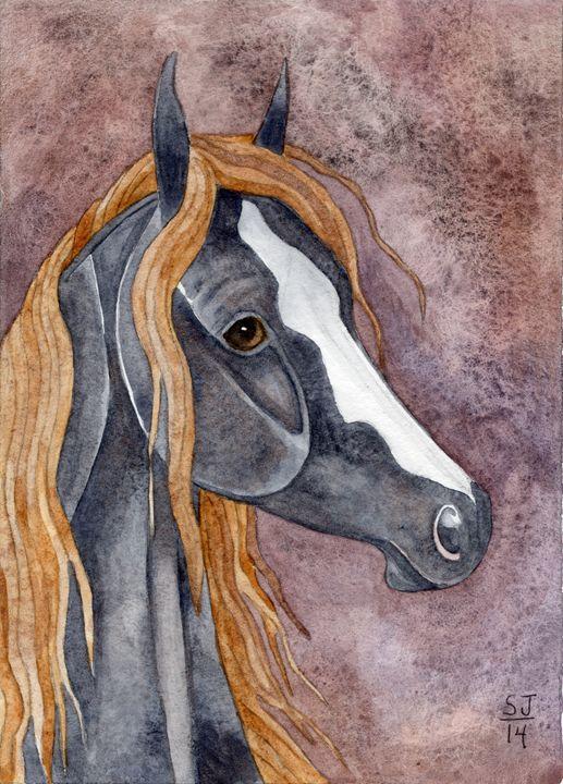 Mountain Horse On Terra - Suzy Joyner