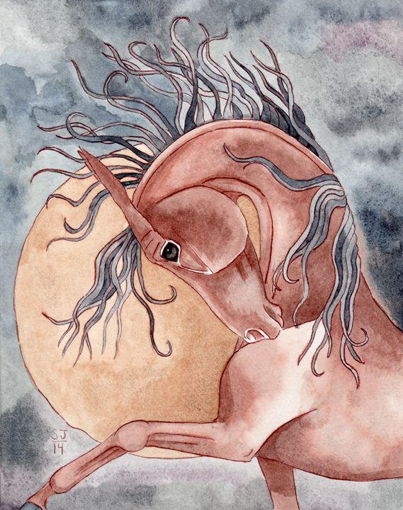 Bay On Gold Moon - Suzy Joyner