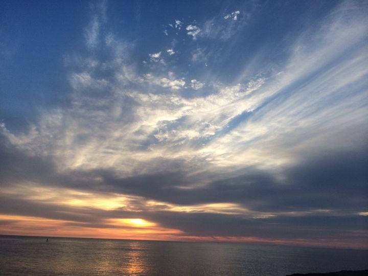 Jersey sunset - J. Sorge