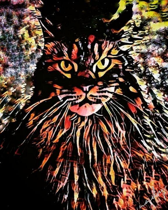 Cat dayout. - aadycomics