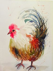 A Timid Rooster
