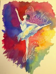 Color of Ballet Girl