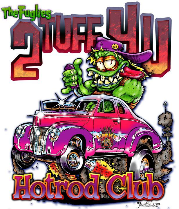 The Fuglies: 2 Tuff 4 U - The Art of Joseph Alexander Wraith