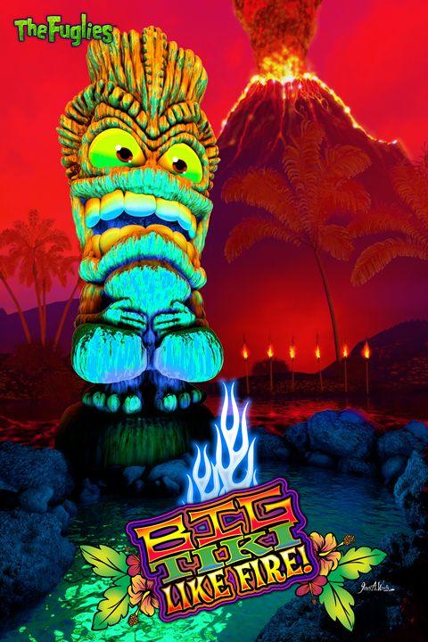 The Fuglies: Big Tiki - The Art of Joseph Alexander Wraith