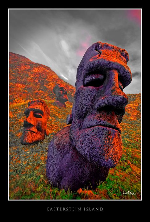 Easterstein Island - The Art of Joseph Alexander Wraith