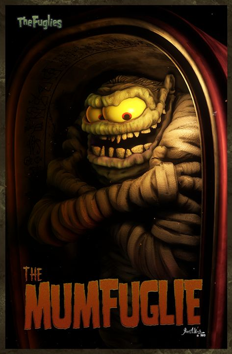 THE MUMFUGLIE - The Art of Joseph Alexander Wraith