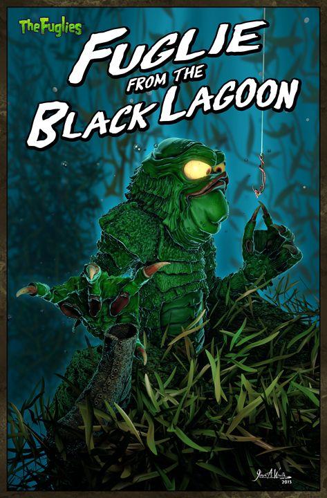 Fuglie from the Black Lagoon - The Art of Joseph Alexander Wraith